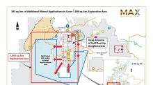 Max Expands Choco Gold-Platinum Project area to 2,140 sq. km to Encompass Additional Gold Bearing Conglomerates