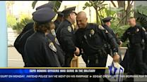 SDPD honors officers who serve in the military