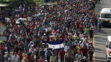 Migranten aus Mittelamerika setzen Marsch Richtung USA fort