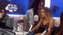Little Mix's Leigh-Anne Pinnock flees Capital FM interview