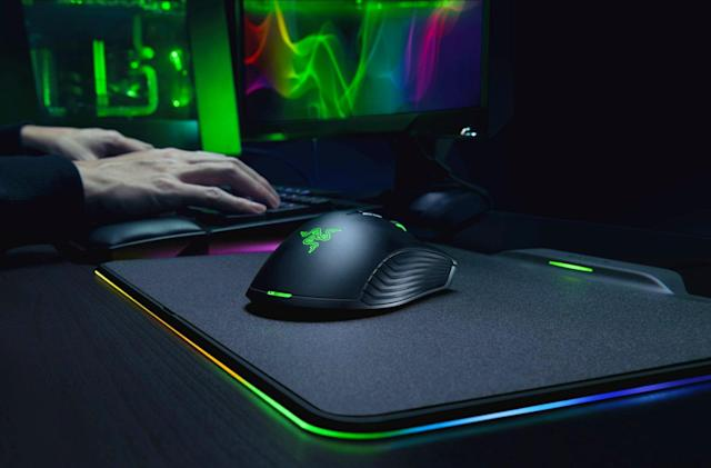 Razer's Hyperflux wireless mouse is powered by its pad