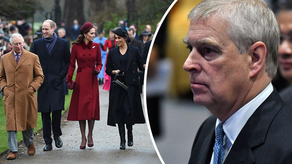 Prince Andrew could be 'banned' from royal family's Christmas
