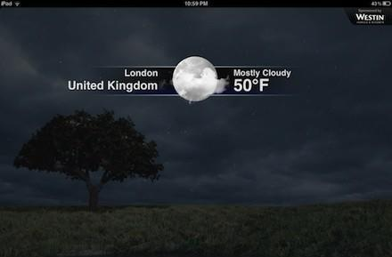 Daily iPad App: The Weather Channel