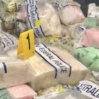 $820 million worth of methamphetamine seized in massive drug bust in Australia