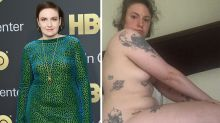 Lena Dunham celebrates her body with naked selfie after hysterectomy