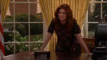 'Will & Grace' returns, immediately goes after Trump