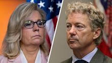 After Trump fires Bolton, Rand Paul and Liz Cheney go to war over it