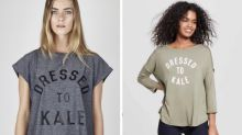 Target Accused of Copying 'Dressed to Kale' T-Shirt