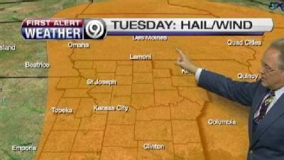 Stormy Weather Could Pop Up Later Today
