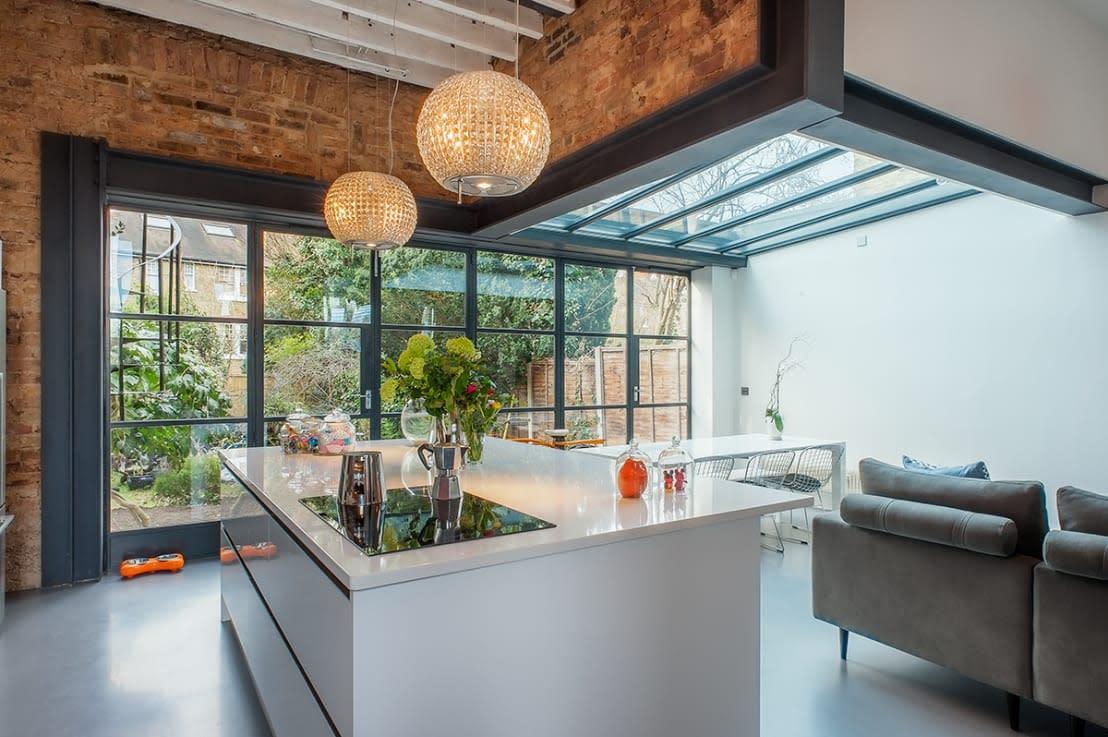 7 Cucine Unite alla Veranda o al Terrazzo a cui Ispirarti