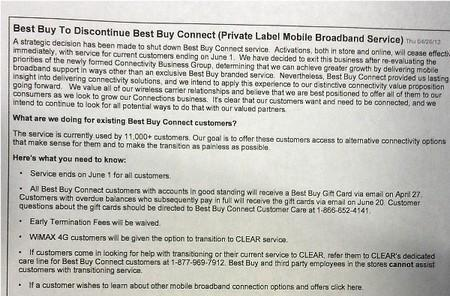 Best Buy Connect no longer accepting new activations, service to end June 1st (update: confirmed)