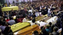 Egypt executes eight men over church bombings: sources