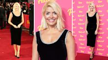 Holly Willoughby dons the perfect black dress for red carpet event