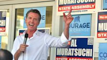 California governor's race enters its final weeks with Democrat Newsom holding a comfortable lead