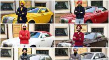 In Pictures: Reuben Singh's Rolls-Royce Turban Challenge