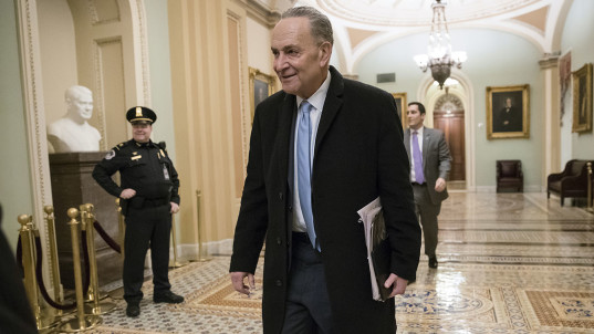 Schumer walks back offer to pay for border wall