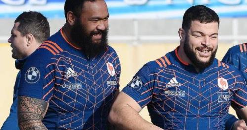 Rugby - Bleus - XV de France : La permutation Atonio-Slimani fait polémique