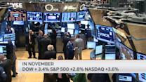 Nasdaq closes at 13-year high