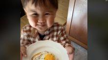 Esse bebê de dois anos é a pessoa mais educada do TikTok!