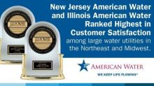 New Jersey American Water & Illinois American Water Ranked No. 1 in Customer Satisfaction in Respective Segments by J.D. Power