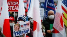 Japanese Trump supporters rally in Tokyo ahead of Biden's inauguration