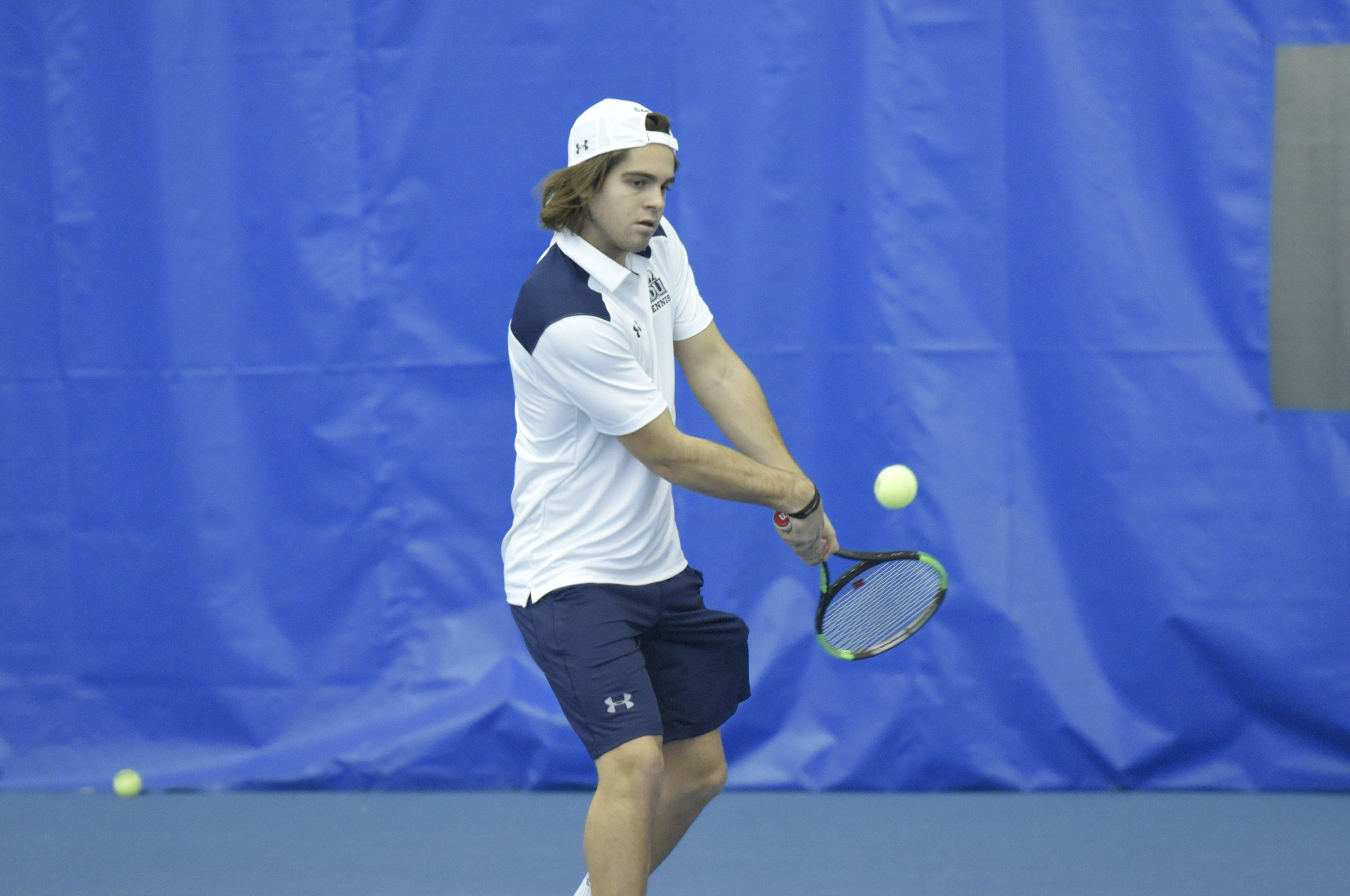 He came from Italy to play tennis for Old Dominion. Now, he's moved to Norfolk State.