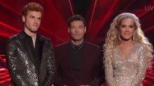 Judges struggle to save one of two favorites on shocking 'American Idol' night