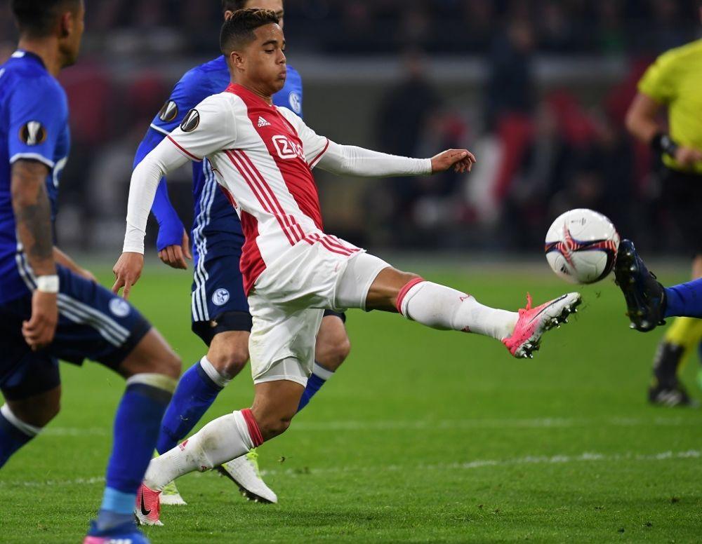 Ajax-Lyon: Cinq choses à savoir sur le phénomène Justin Kluivert