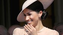 The blush pink dress Meghan Markle wore to Charles' 70th birthday is now 30% off