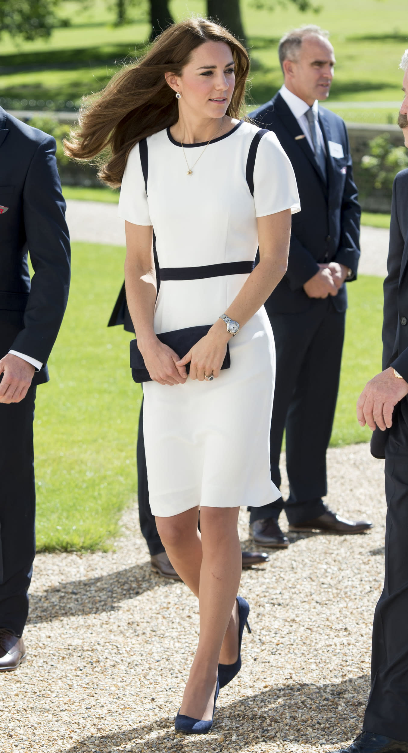 The Duchess of Cambridge during an official visit to National Maritime Museum on June 10, 2014 in London, England.