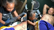 Instagram dad lets daughter, 7, give him a tattoo