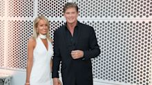 He's 'Hoff' the market! David Hasselhoff gets married for the third time