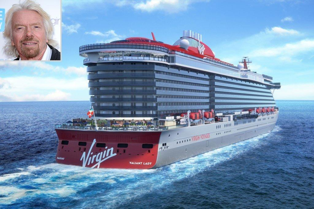 Richard Branson's Adults-Only, All-Inclusive Cruise Line Announces Second Ship, Valiant Lady - Yahoo Entertainment