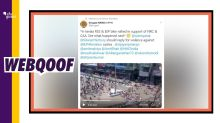 BJP-RSS Pro-CAA Bike Rally Attacked in Kerala? No, Video Is Old