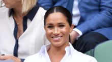 Pregnant Meghan Markle wears $138 maternity jeans to drop Archie off at school — and they're selling fast!