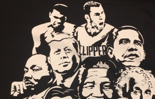 Blake Griffin and some of his fellow 'pioneers.' (@MarcJSpearsESPN on Twitter)