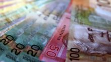 US dollar falls slightly against Canadian dollar on Friday