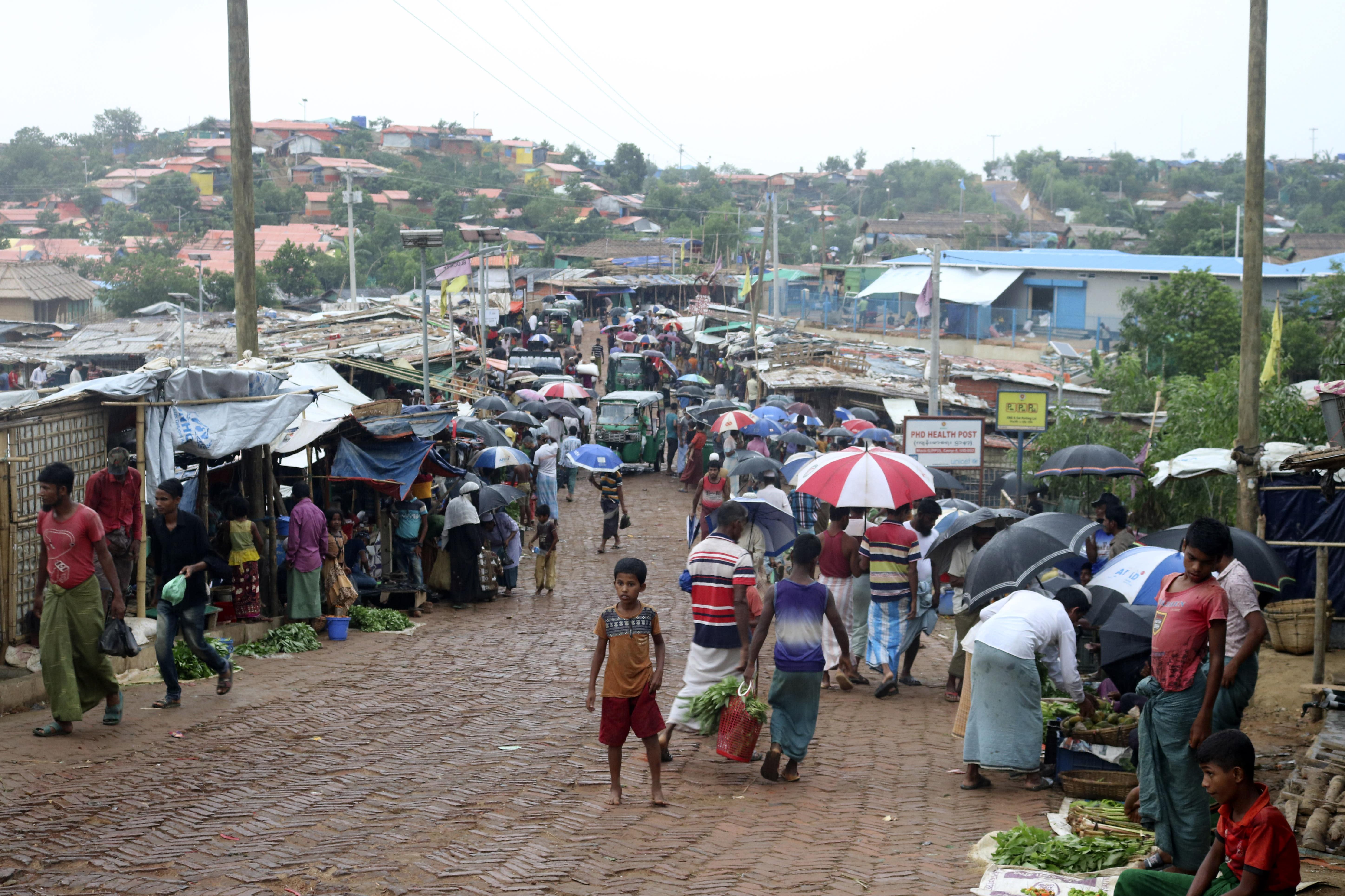 Virus Outbreak Rohingya