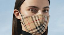 Luxury brand Burberry is now selling face masks