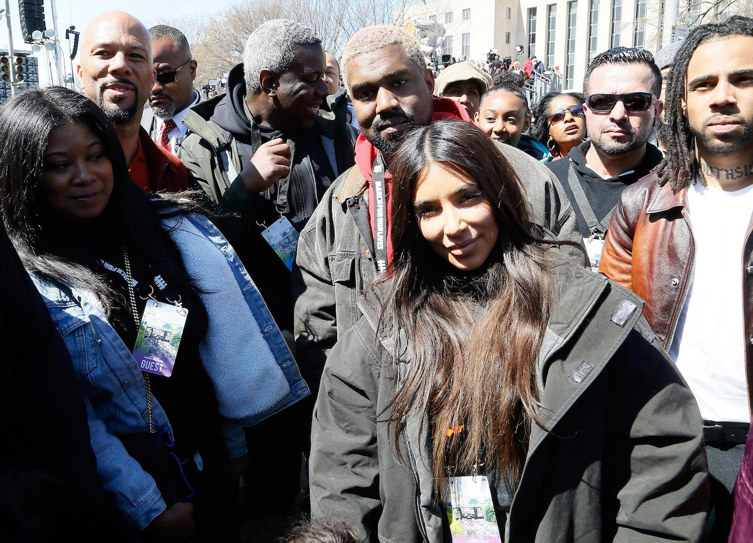 Kim Kardashian, Kanye West, Paul McCartney and more celebs attend March for Our Lives