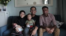 Joyful reunion as Grab Singapore driver meets baby born in his car