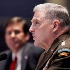Trump's top general appears to contradict president on military bases named for Confederates