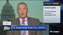 TD Ameritrade just made a big move in the crypto space