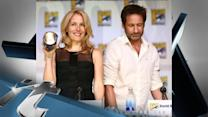 TV News Pop: David Duchovny & Gillian Anderson Reunite At Comic-Con For X-Files' XXth Anniversary!