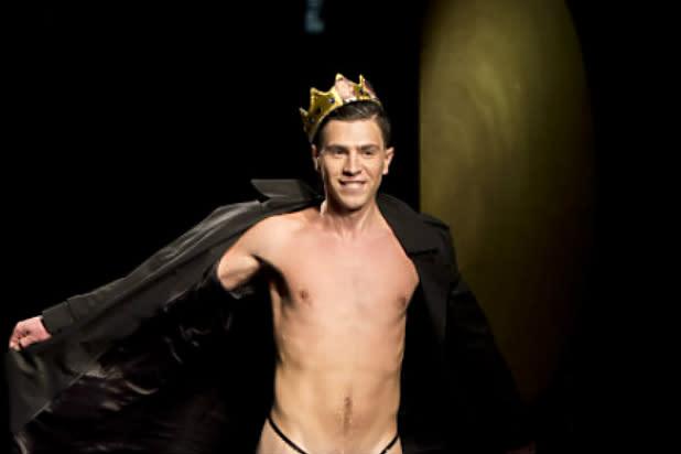 Male Streaker Crashes Runway at New York Fashion Week (Photos)