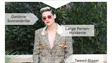 Look des Tages: Kristen Stewart glänzt in shiny Chanel