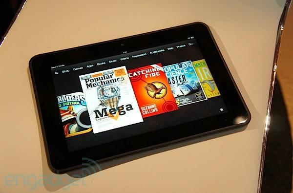 Amazon's 8.9-inch Kindle Fire HD impressions