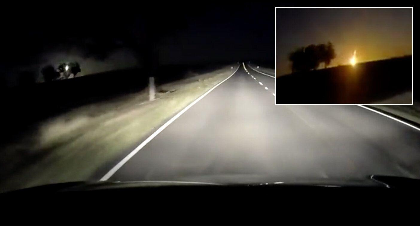'Here come the Men In Black!': Suspected meteor caught on dash cam in Victoria