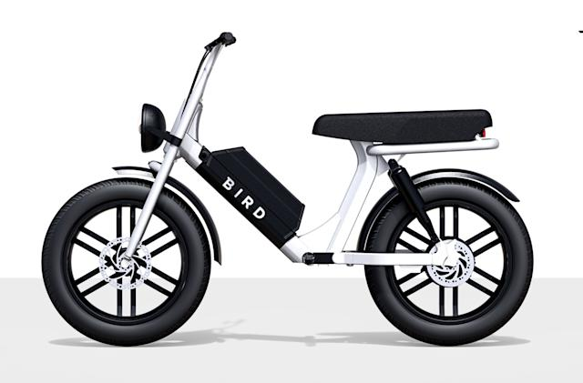 Bird is adding a shareable electric motorcycle to its fleet