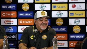 Foot - WTF - WTF: un trône pour Maradona lors des matches à domicile